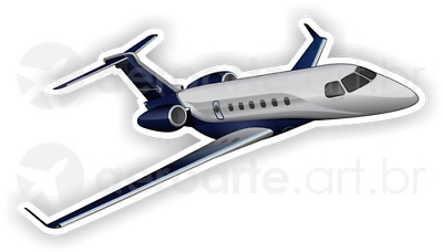 Embraer Legacy 600 aircraft sticker
