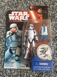 "STAR WARS FIRST ORDER STORMTROOPER /""THE FORCE AWAKENS/""  3 3//4/"" FIGURE"
