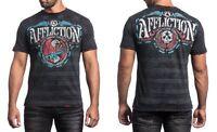 Affliction Superior Firepower Men's Short Sleeve T-shirt A12598, Black