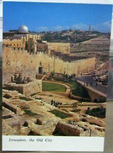Israel-Jerusalem-The-Old-City-Northern-Wall-El-Asqu-Mosque-Mount-Olives-unpost
