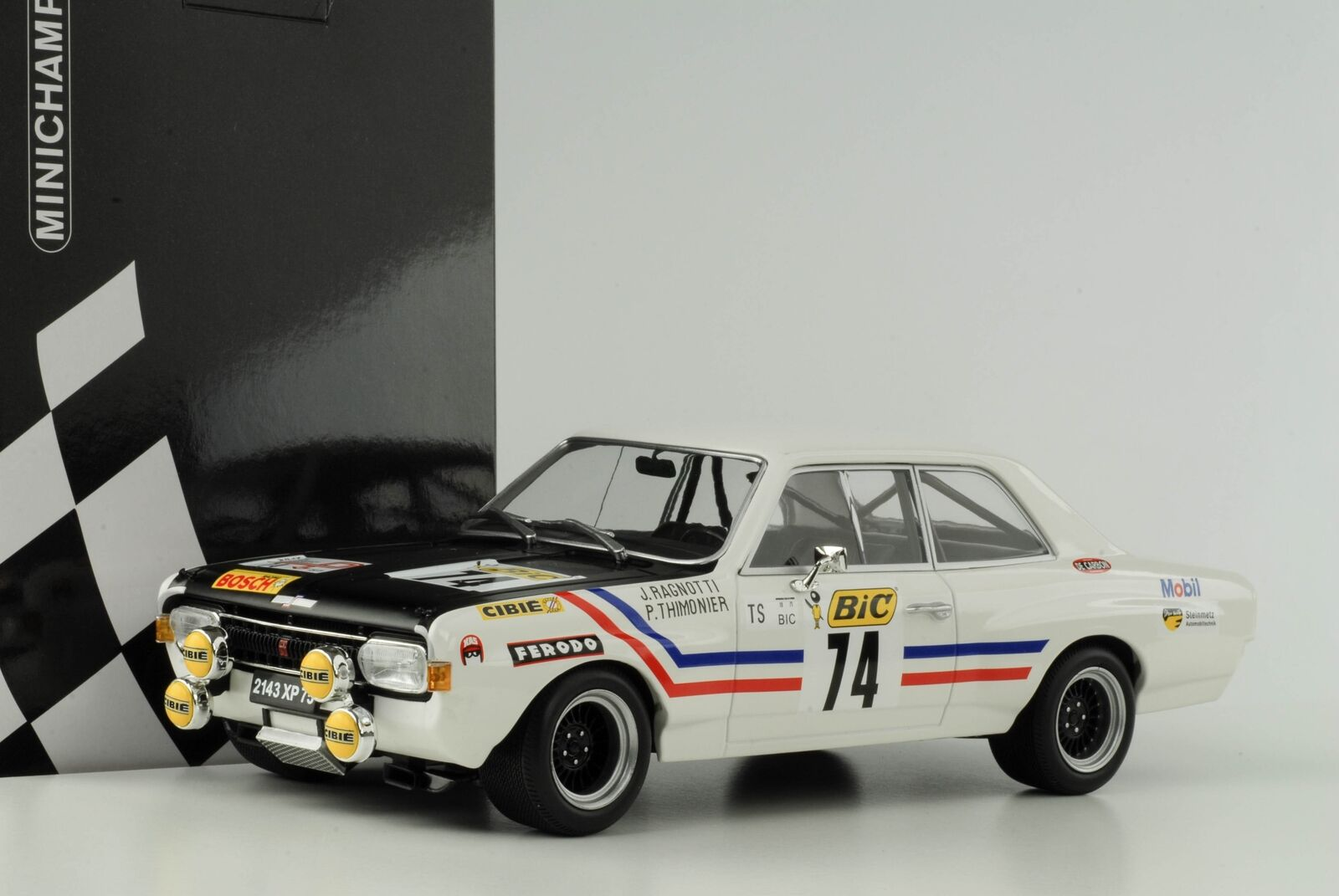 Opel Commodore A GS E Steinmetz  74 GrougeER Tour de France 1971 Ragnotti 1 18 Mi