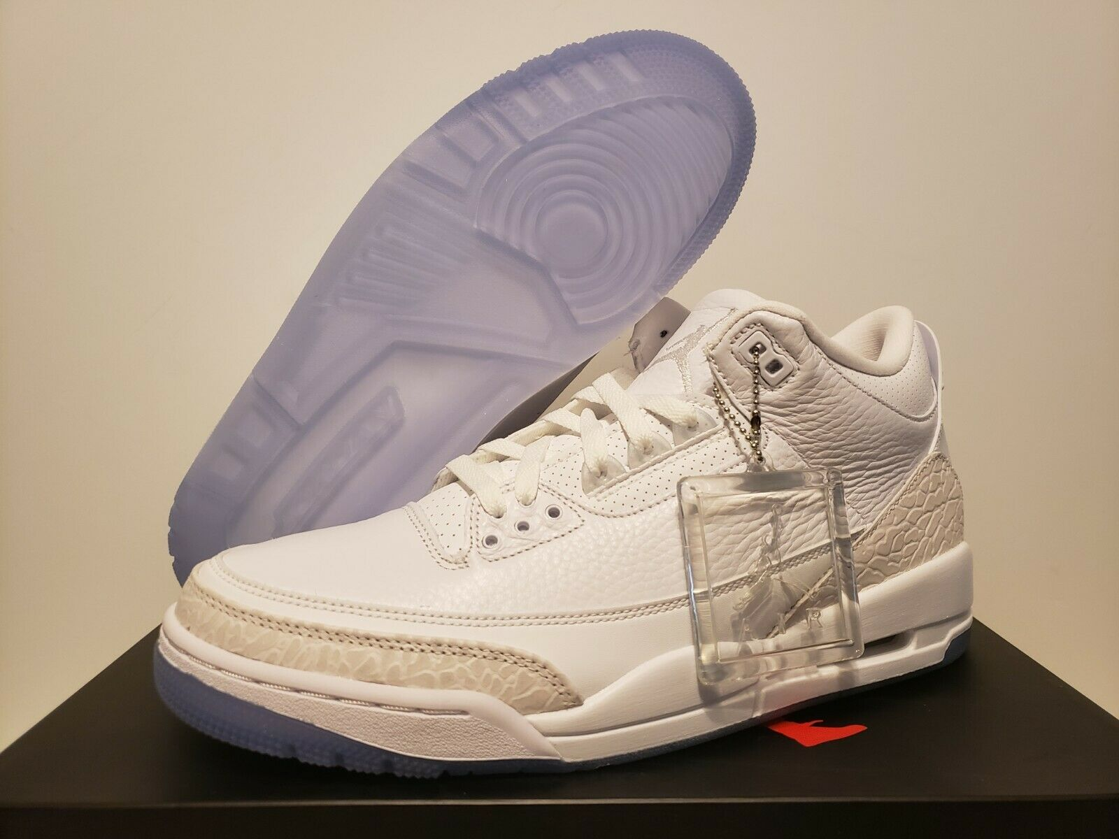 DS Jordan 3 Retro TRIPLE blancoo Air