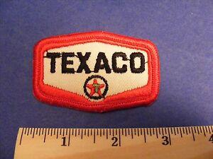 Texaco LOGO 7 ricamate iron-on patch