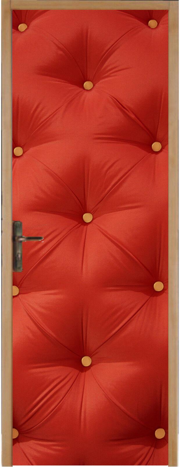 Adhesivo para Puerta Plana Capitoné 93x204cm Ref 313
