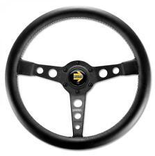 Momo Steering Wheel Prototipo 350mm Black Leather with black spokes
