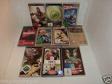 10 x Spiele / Games für Sony PSP (Monster Hunter, FIFA, PES, u.v.m)