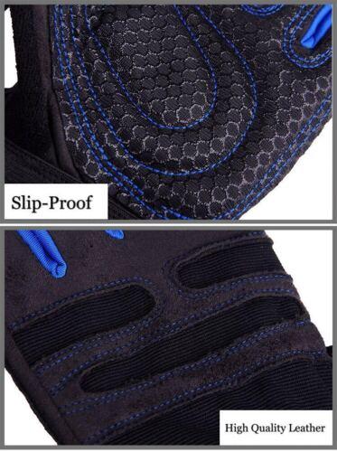 Hommes /& Femmes Haltérophilie Gym Gants non Callosités Slip Training Fitness Bracelet