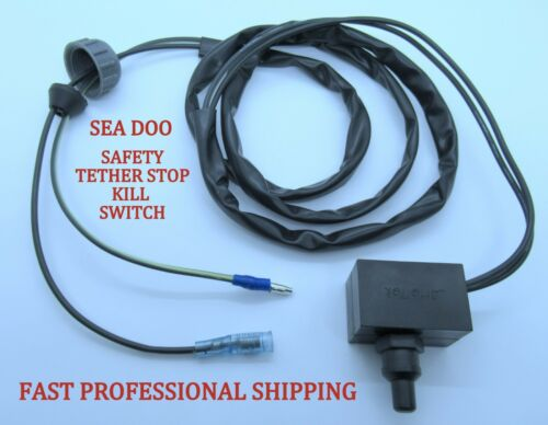 SeaDoo Safety Tether Switch 278000555 278000552 All 1989-1995 /& 1996 SP SPI GTS