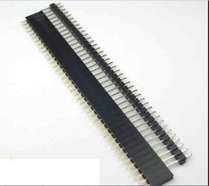 20-PCS-Male-amp-Female-40pin-2-54mm-SIL-Header-Socket-Row-Strip-PCB-Connector-C-BP