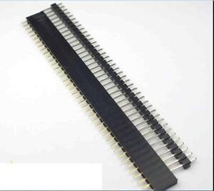 20-PCS-Male-amp-Female-40pin-2-54mm-SIL-Header-Socket-Row-Strip-PCB-Connector-C-Pr