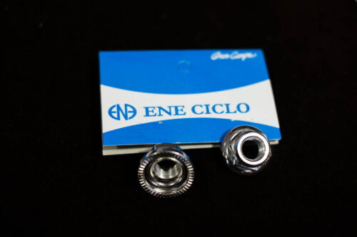 Rear 10mm Track Hub Nuts Dia-Compe Naben Achsmuttern Front 9mm