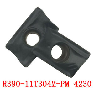 Details about R390-11T304M-PM 4230 CNC lathe insert cutting tool carbide  turning blade 10P