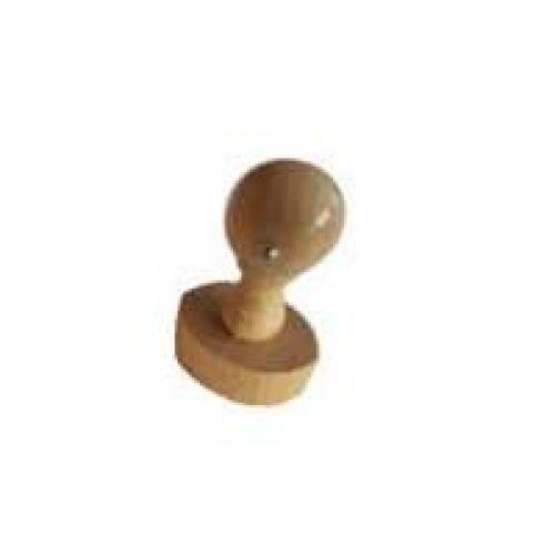 Stempelplatte Kissen möglich Colop M2 NEU Holzstempel Griff oval 78x48mm inkl