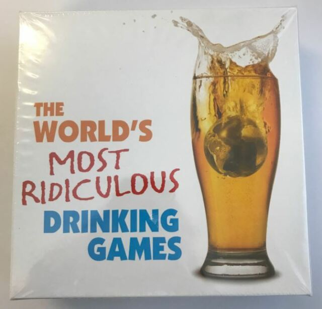 THE WORLDS MOST RIDICULOUS DRINKING GAMES **DAMAGED BOX*** #2