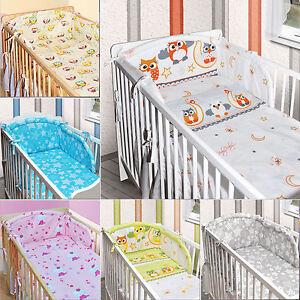 Bettumrandung Nestchen Kopfschutz 420x30 360 180 Bettnestchen Baby KUSCHELIG