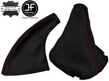 FITS                      NISSAN 200SX SILVIA S14 350Z LEATHER SHIFT BOOT RED ST