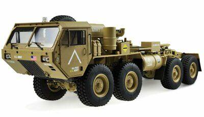 Amewi U.s. Militare Scale Truck 8x8 1:12 Con Superficie Di Carico Rtr, Sabbia #22390-mostra Il Titolo Originale
