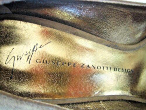 Giuseppe Toe door Olive Pumps 737650 Neighbours Italië New Peep Suede Zanotti CthQdrs