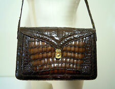 CULT VINTAGE '70 Borsa Pelle Tracolla Cocco Style Leather Shoulder Bag