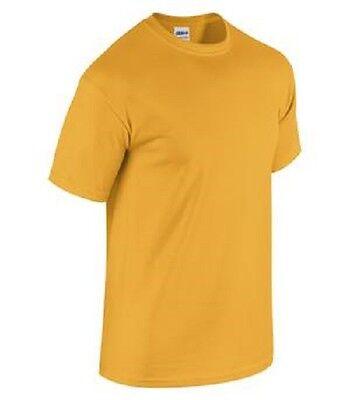 BRAND NEW Gildan Mens Plain T Shirts Short Sleeve Blank Tee Top Shirts S-3XL