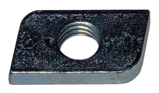 20 Stück Schiebemuttern M8 f. C-Profile 27x18 (Profil A)