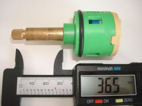 74mm 2 WAY THERMOSTATIC SHOWER MIXER VALVE CERAMIC DISC CARTRIDGE 161//046//063