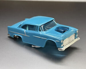 AURORA AFX MAGNA-SONIC Blue '55 Chevy Ho Slot Car Body