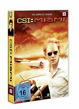 6 DVDs * CSI : MIAMI -  KOMPLETTE STAFFEL / SEASON 8 # NEU OVP §