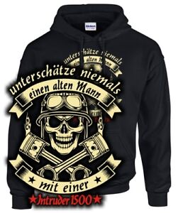 Quote 1500 Tuning Old Motorcycle Man Sweatshirt Intruder Biker With Accessories fxBzHHZ