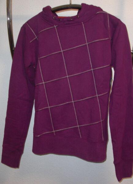 Affidabile 3 Mangiare Sportswear Girls Hoody Nuovo New Dark Purple Hodded Viola Con Cappuccio Pullover S-r S Conveniente Da Cucinare