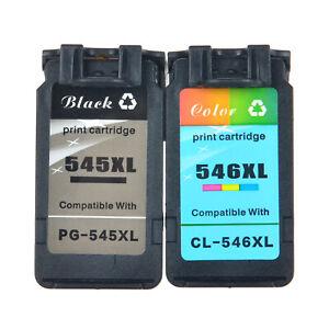 Patrone-fuer-Canon-PG-545XL-545XL-CL-546XL-546XL-PIXMA-Voller-Tinte-Mit-Chip
