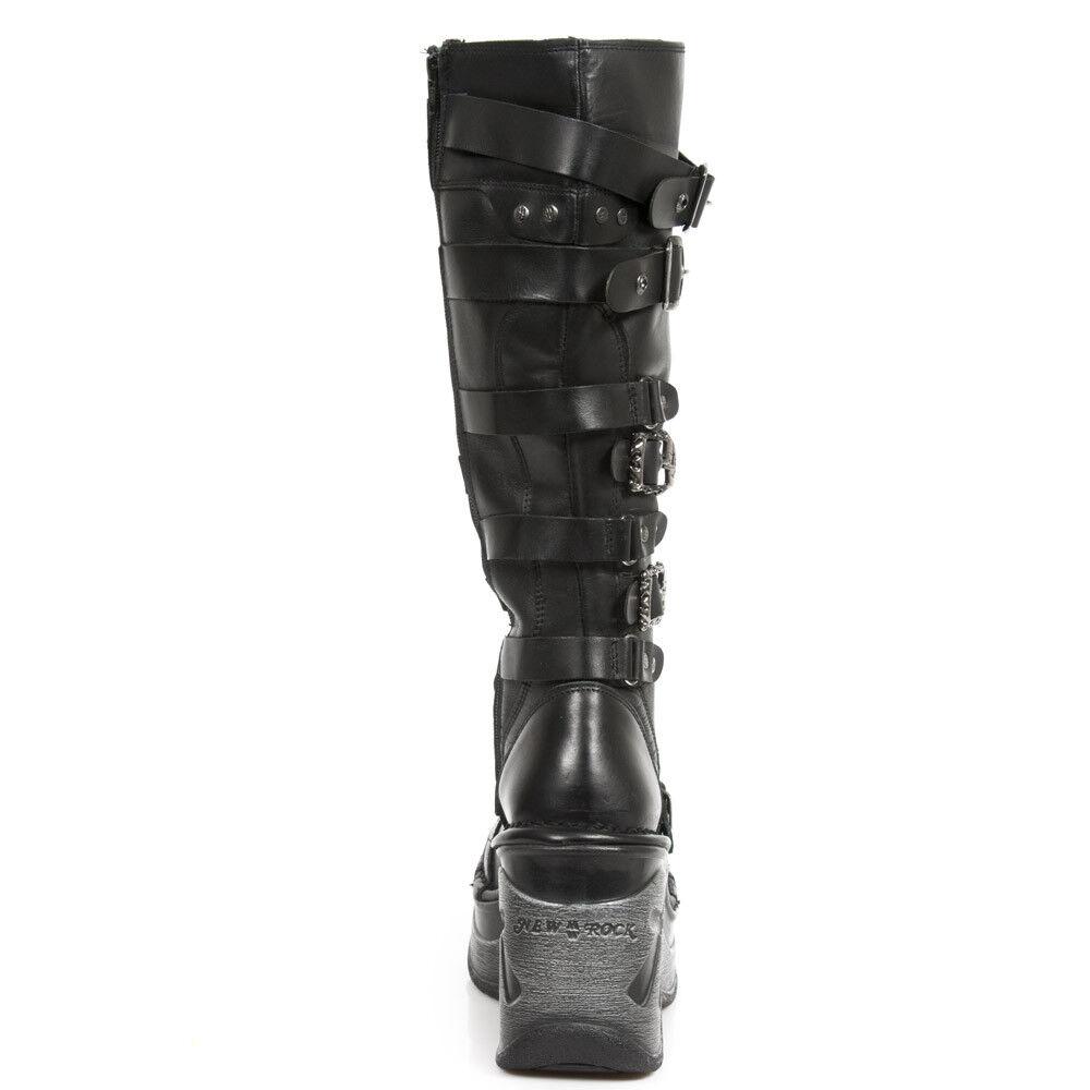 New Rock NR M.SP9831 S1 Black Black Black - Boots, Neo cuna Sport, Women d9d47b