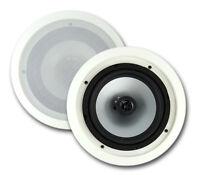 2) Vm Audio Vmis8 8 350 Watt 2 Way In Ceiling/wall Surround Home Speakers on sale