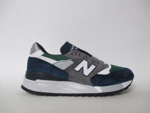 new arrival 58efd 2f55b ... get image is loading new balance 998 made in usa grey navy 8a8aa d505f  ...