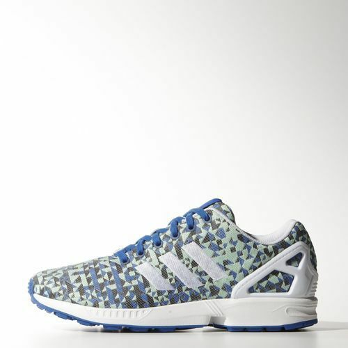 NEW MEN'S ADIDAS ORIGINALS ZX FLUX WEAVE SHOES [B34474]  MEN US 7