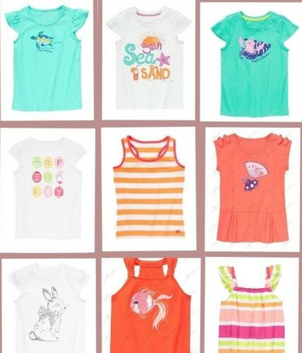 Gymboree Girls Kids Summer Top T-Shirt Tank Tee Short Sleeve SZ  5 6 7 8 10 NWT!