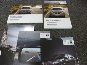 2012 Bmw 740i 740li 750i 750li 760li Alpina B7 Owner Manual Xdrive