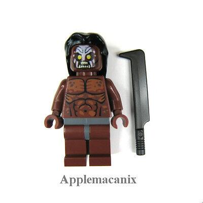 LEGO Lord of the Rings 9476 Orc Forge URUK-HAI COMMANDER LURTZ Minifigure Figure