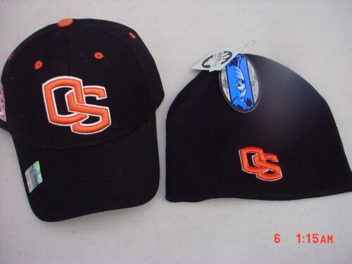 Licensed  Oregon State  Beavers Cap /& Beanie  NEW
