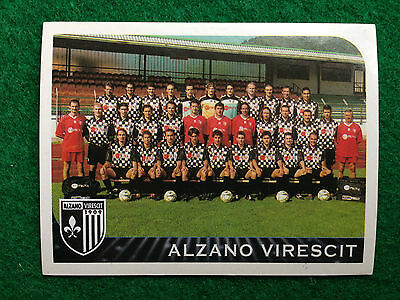 484 ALZANO VIRESCIT SCUDETTO NEW EDICOLA!! Panini Calciatori 2000 N