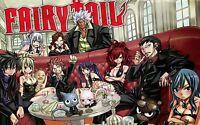 FAIRY TAIL  Japanese Anime Manga Hiro Mashima F3 POSTER A4 A3 BUY 2 GET 3RD FREE