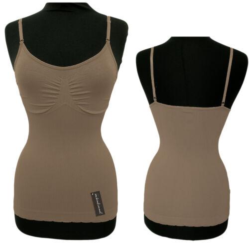 Träger abnehmbar Slim Fit Top Shape Unterhemden für Damen 2er Set Bodyformer