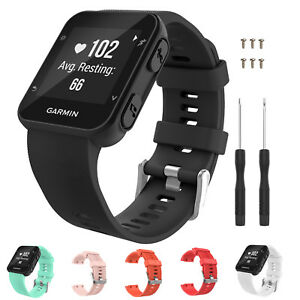 Silicone-Replacement-Watch-Band-Sport-Bracelet-Strap-for-Garmin-Forerunner-35