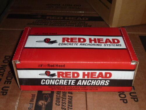 "RED HEAD HN-1240 full Sleeve cement Anchor Pk 25 pack of 1//2/"" x 4/"" Dynabolt"