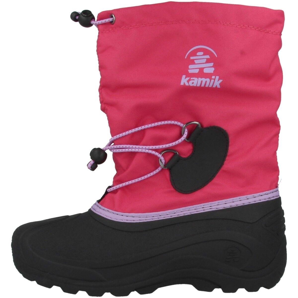 Kamik Southpole 4 niños botas de invierno invierno de botas de arranque Bright rosado zapatos nk4727-rol d576ac