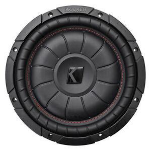 Kicker-43CVT104-COMPVT-800w-10-034-4-Ohm-SVC-Slim-Shallow-Car-Subwoofer-Sub-CVT10-4