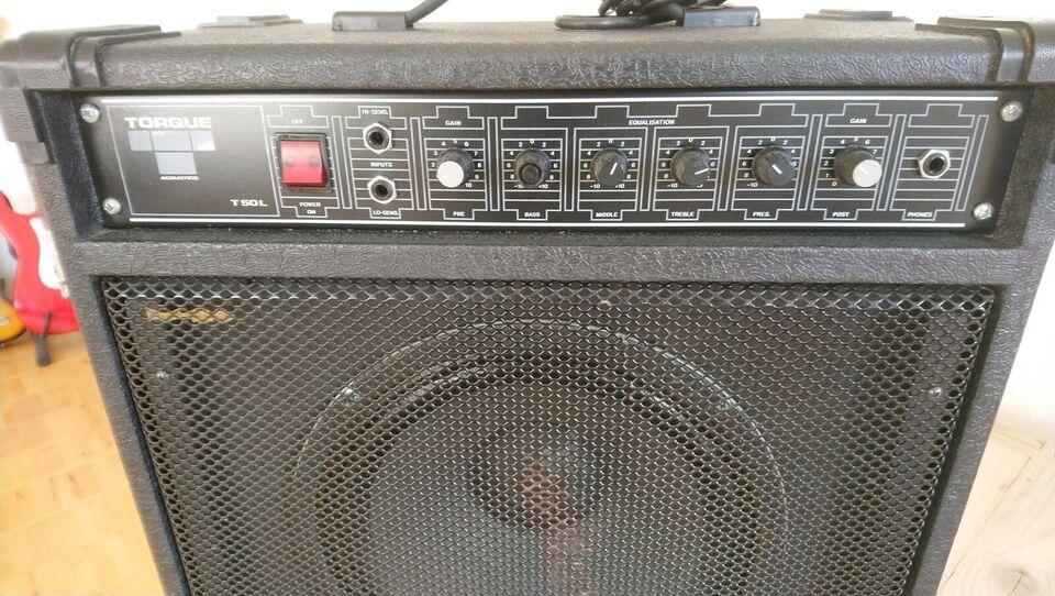 Guitarcombo, torque acustics t50l acustics
