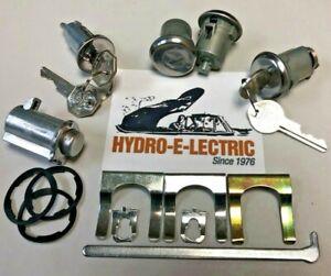 Buick Special//Skylark Ignition Door Trunk Glove Box Original Key Lock Kit 1972