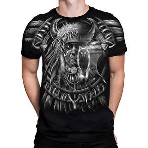 be56fc51c91cb8 WOLF DREAMCATCHER T-Shirt, Liquid Blue, sizes S - 6XL dark fantasy ...