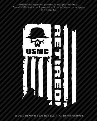 U.S Marines Major League Jarhead Wall Window Vinyl Decal Sticker Military